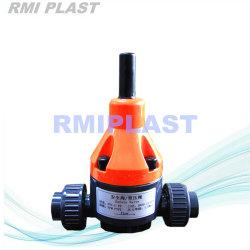 플라스틱 PVC PP PVDF 배압 통제 벨브 Wcb/304handle 기어 나비 벨브 또는 조합 플랜지 공 벨브 /Diaphragm 압축 공기를 넣은 전기 역행 방지판 또는 확실한 벨브