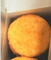 동결된 물고기 케이크