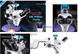 Dentiste étudiant monoculaire Digital USB microscope chirurgical avec la caméra