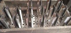 2205 Duplex em aço inoxidável batoques, Mini-Post, Core Perfurados Post, banhado a Base de costura, resistente a Braçadeira