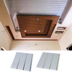 7mm de Dikte Verfraaide Stof van het Plafond van de Rek van pvc voor Woonkamer/Badkamers