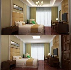 Hôtel de Luxe Chambre à coucher Meubles Meubles/hôtel/hôtel moderne de taille King mobilier de chambre/suite hôtel Standard Chambre Simple (GLN-035)