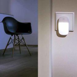 A luz do LED do sensor do Rato candeeiro de parede de forma a Luz de Vela DA UE
