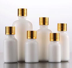 Óleo essencial de vidro branco pérola de vários tamanhos de vaso de cerâmica vaso de Óleo Essencial
