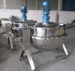 وعاء مطهو على البخار من الفولاذ الذي لا يصدأ (تسخين البخار/الكهرباء)