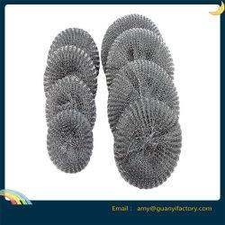 Металлическую проволоку сетка рулонов с Scourer утюг губка