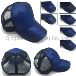 Billig 6 Panel-Jacquardwebstuhl-Ineinander greifen-Fernlastfahrer-Baseballmütze-Sport-Hüte