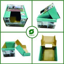 Складные Доставка печатных картонные коробки дисплея