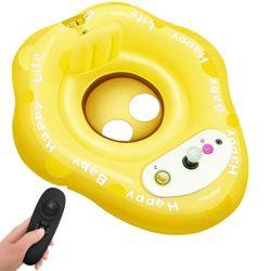 Bateau de jouets gonflables pour enfants avec la commande à distance