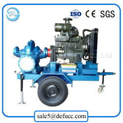 Высокая емкость двойной всасывающий Split случае дизельного двигателя машины водяного насоса