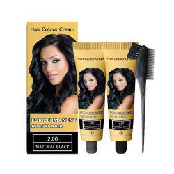 A cor do cabelo Cream-Permanent OEM preto