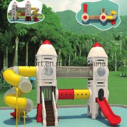روضة أطفال لعب لعبة داخلية منزلقة كبيرة في الهواء الطلق اللعب الأرض أنبوب للمبيعات