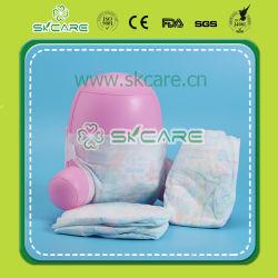 고급품 가득 차있는 주위 허리 도매를 위한 처분할 수 있는 아기 기저귀에 집중