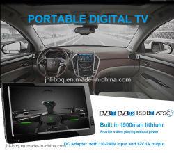 携帯用デジタルTVアナログTVのマルチメディアTVカラーTFT LED表示10.1インチのHDMIおよびVGAの入力、アナログTV、DTV+ATV All in 1 TV