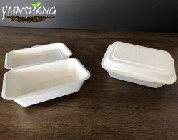 [9إكس9] [1-كمبرتمنت] محارة [كمبوستبل] طبيعيّ ثفل [سوغركن] لين [تك-ووت/تو-غو] يعلّب طعام وعاء صندوق قابل للتفسّخ حيويّا مع يدار غطاء موجة دقيقة خزينة