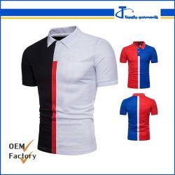 Пользовательский - пользовательскими короткие втулки рубашки поло, Гуанчжоу Пике хлопка мужские футболки