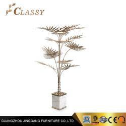 Goldblatt-Baum-Dekoration-Metallfertigkeiten für Luxushotel