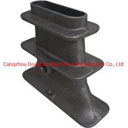 Orifice unique de la tête de fourreau d'ancrage et de trois parties Les filtres en coin pour la post-projet de construction en béton précontraint de tension