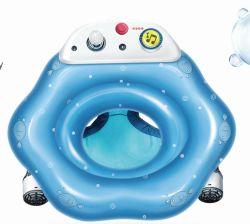 Custom adorável forma redonda com anéis de nadar insuflável de PVC para crianças