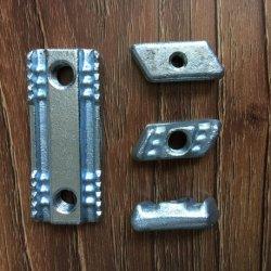 La tuerca de sujeción de acero forjado con el zincado superficie