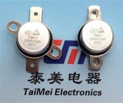 Fabrication de l'automobile de l'interrupteur de température de chauffage Termostat Ksd fusible thermique 10 A 250 V