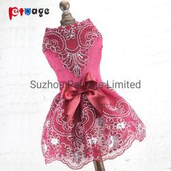 Vestiti dei prodotti dell'animale domestico del costume del vestito da festa del pannello esterno di estate del cane