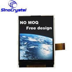 2.4 Module d'affichage TFT LCD COG MCU 8 bits à 25 broches de l'écran LCD tactile