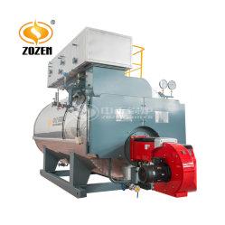 3t/h Caldera de Gas Natural Industrial de Agua Caliente y Calefacción de Vapor