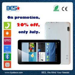 7 Inch A33 Quad Core 2g SIM Card 512MB/4GB MID mit Phone Call