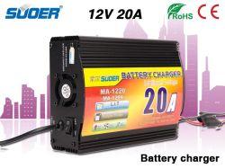 De ZonneLader van de Goede Kwaliteit van de Lader van de Batterij van de Macht van de Lader van de Batterij van Suoer 20A 12V met Four-Phase het Laden Wijze (ma-1220/ma-1204)