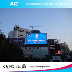 A BST Multimedia publicidade exterior display LED, fora do pixel da tela LED de 8 mm