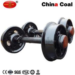 Insieme di rotella dell'automobile della miniera dell'acciaio di getto del calibro del carbone 600mm della Cina