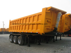 3 Achse 40ton Sinotruk Huawin Bergbau Dumper Dump Kipper Semi Anhänger