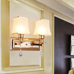 형식 현대 벽 Lamp 나무로 되는과 금속 홀더에 있는 겹빛 신제품 단순한 설계