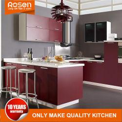 Новых экзотических цветов дизайн сосновой шпона кухонные шкафы мебель