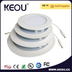 Candeeiros de tecto falso luzes LED elegante painel de LED