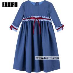 공장 아기 의복 새로운 디자인 형식 소녀 파티복 아이 옷 아이들은 착용한다