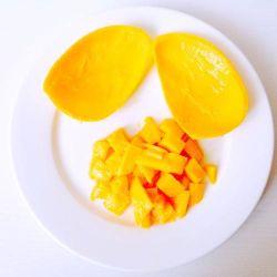 De super Plak van de Mango van de Kwaliteit IQF Bevroren