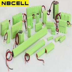 Het aangepaste Navulbare Pak van de Batterij Ni-MH/NiMH (aa, AMERIKAANSE CLUB VAN AUTOMOBILISTEN, A, Sc, D, F)