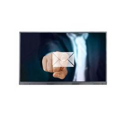 Van het LEIDENE FHD 1080P het interactieve vlakke scherm 55inch vertoningspaneel