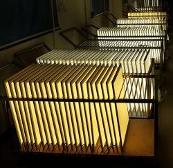 Высокое качество поверхности установлены квадратные светодиодные панели освещения 60X60