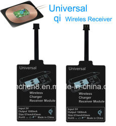 Heißer Universal Micro USB Qi Standard Wireless Charger Receiver für Samsung S3 S4 S5 S6/Note2 3 4 Xiaomi Mobile Coil Charging