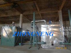 Los residuos de destilación del aceite del motor Máquina/Negro purificador del aceite del motor