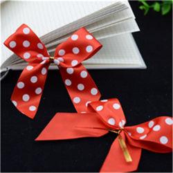 OEM de envolver para regalo cinta de satén de poliéster 100% Bow Doble Cara única decoración Webbings caras