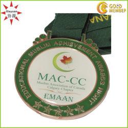 Revestimiento epoxi personalizado adhesivo para las medallas de metal de Canadá