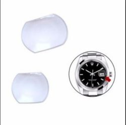 El zafiro vidrio de reloj de la aplicación de la ventana óptica