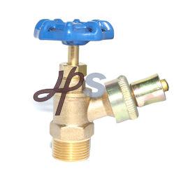 """1/2"""" Npt Full Flow Blue Handle Wheel Brass Boiler Drain-Afsluiter"""
