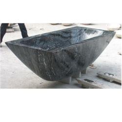 Baignoire en pierre de granit autostable de marbre baignoire de massage
