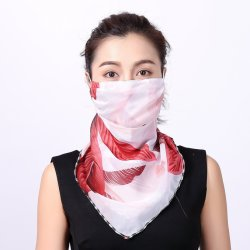 Таким образом перед лицом Без шарфа напечатано Без шарфа Cool легкие летние защиты Без шарфа Bandana UV защитный для использования вне помещений