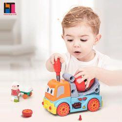 DIYのおもちゃRCのプラスチックおもちゃ車は車の構築のおもちゃを離れて取る